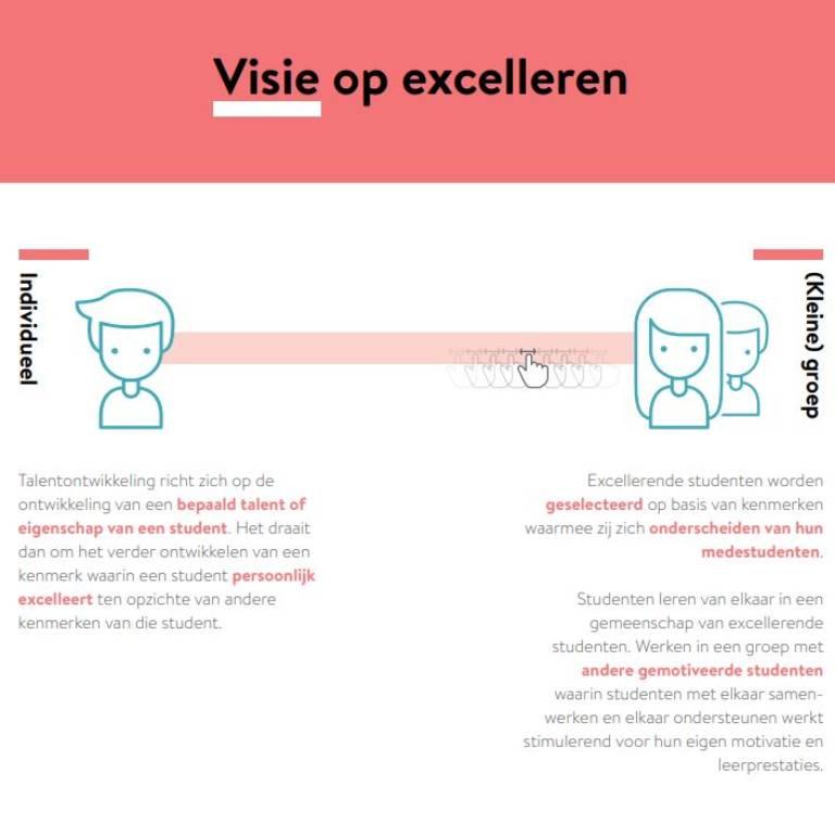 Handleiding | Ontwerpen van Excellentieprogramma's