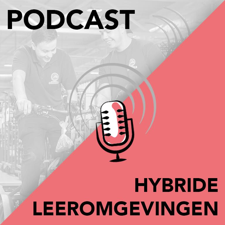Podcast hybride leeromgevingen