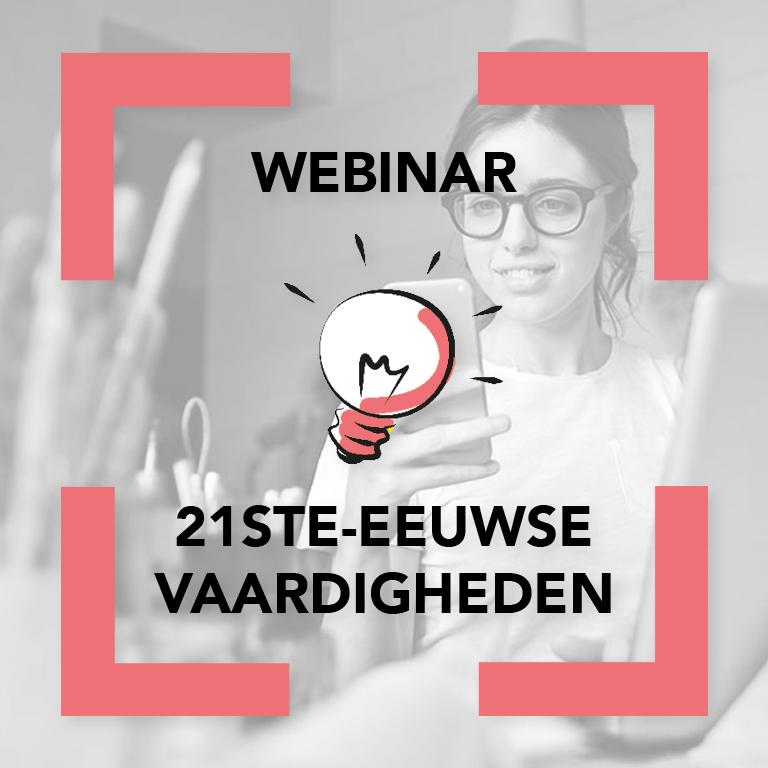 Webinar 21ste-eeuwse vaardigheden en breed ondernemerschapsonderwijs