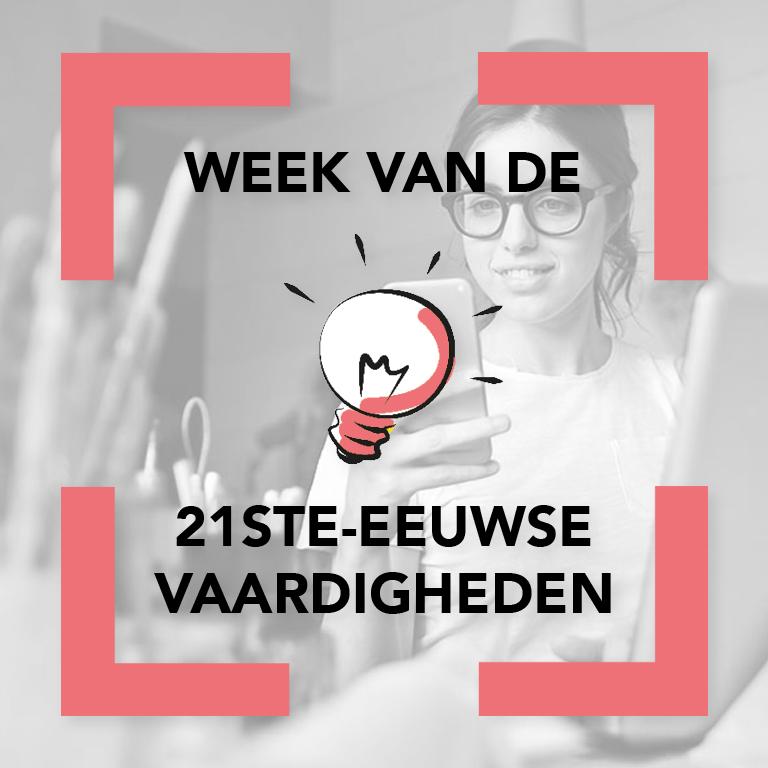Week van de 21ste-eeuwse vaardigheden ecbo